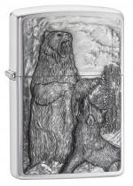 Bear Versus Wolf Emblem 29636