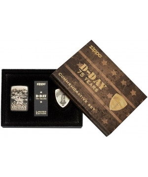 75th Anniversary D-Day Commemorative Limited Zippo 29930