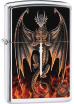 Anne Stokes Dragon Sword Zippo