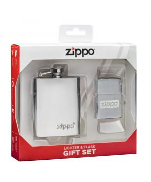 Zippo Set Placatka & Zapalovač 30062