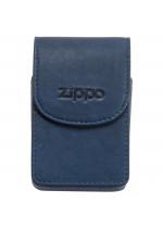 Zippo Kožené pouzdro na cigaretovou krabičku modré