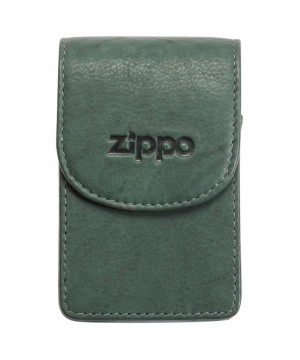 Zippo Kožené pouzdro na cigaretovou krabičku zelené