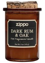 """Zippo Svíčka """"Spirit Candle - Dark Rum & Oak"""""""