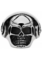 Zippo prsten Skull & Headphones