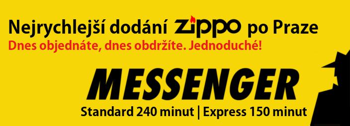Rychlá doprava Zippo Messengerem