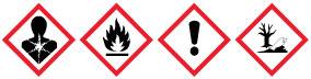Bezpečnostní symboly - Benzín Zippo
