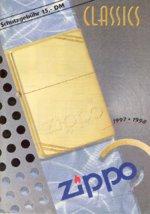 Zippo katalog 1997 - 1998