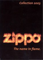 Katalog Zippo Collection 2003 - katalog zapalovačů