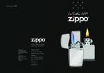 Katalog Zippo 2009 - základní kolekce